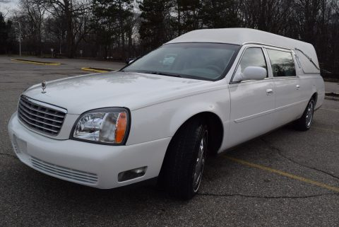 low miles 2004 Cadillac Deville Hearse EDITION for sale