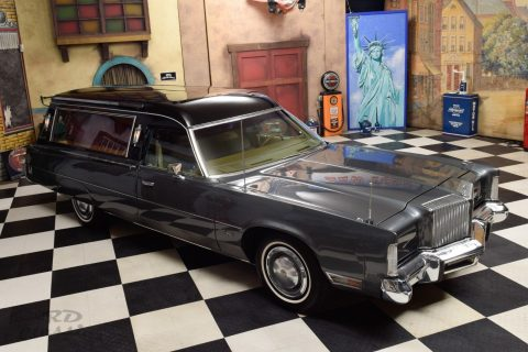 rare 1977 Chrysler Imperial Le Baron Hearse for sale