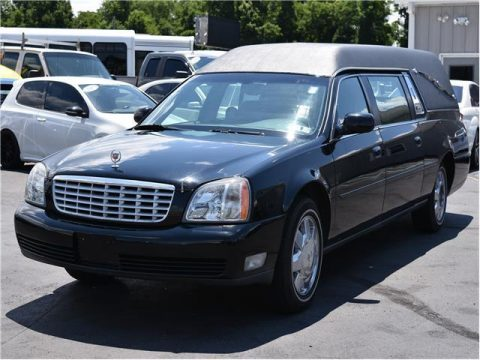 serviced 2003 Cadillac Deville Funeral Coach hearse for sale