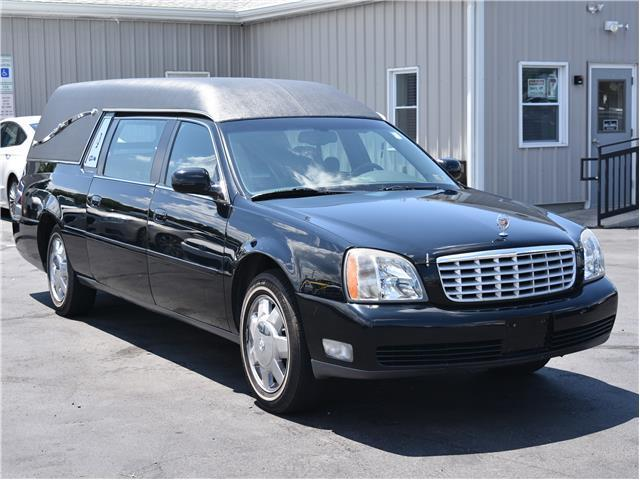 serviced 2003 Cadillac Deville Funeral Coach hearse