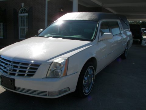 super clean 2008 Cadillac S&S hearse for sale