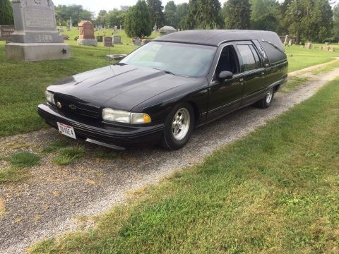 Impala SS front clip 1992 Buick Roadmaster Hearse for sale