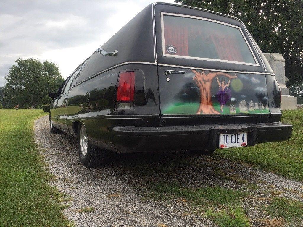 Impala SS front clip 1992 Buick Roadmaster Hearse