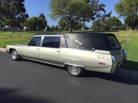 new parts 1972 Cadillac Fleetwood S&S Victoria Hearse for sale