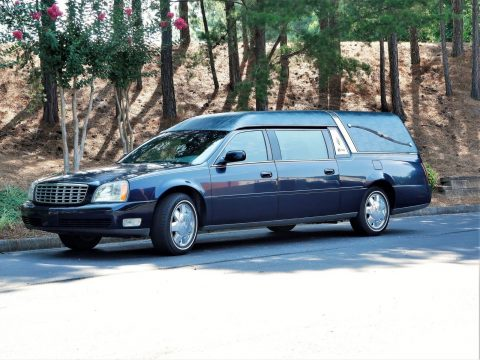outstanding 2003 Cadillac DeVille S&S Coach hearse for sale
