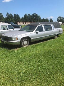 solid 1994 Cadillac hearse for sale