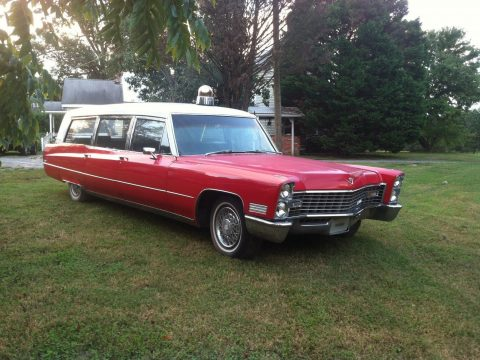 cool 1967 Cadillac Hearse/ambulance Combination hearse for sale