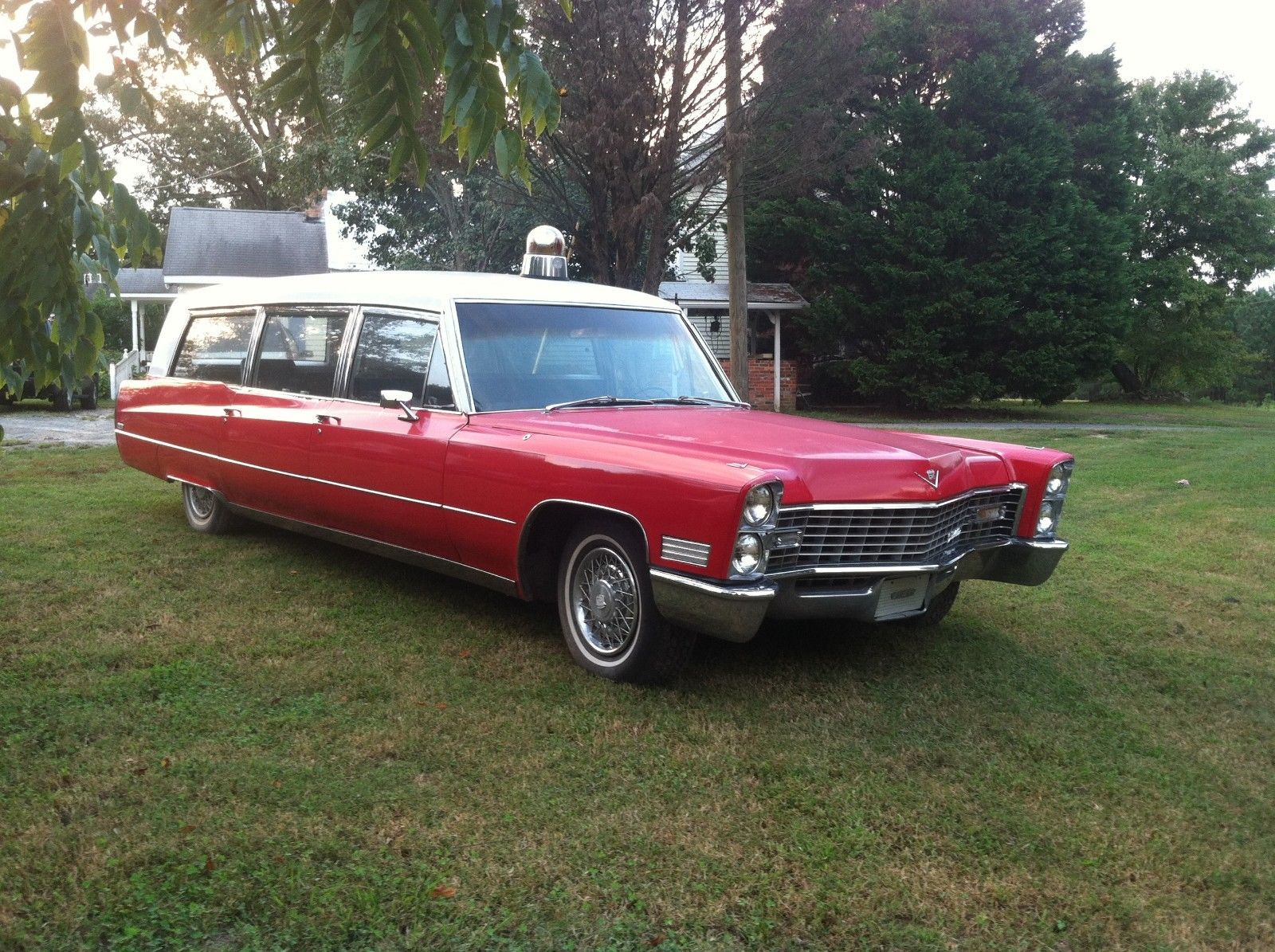 Cool 1967 Cadillac Hearse  Ambulance Combination Hearse For