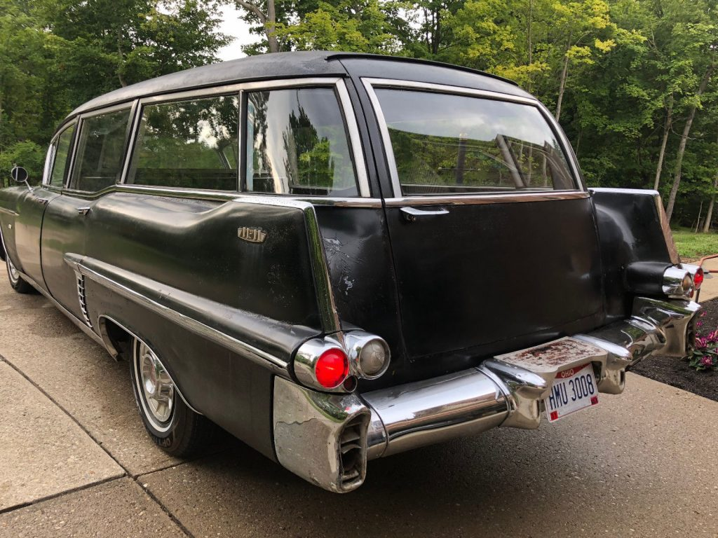 new parts 1957 Cadillac Commercial Chassis HEARSE
