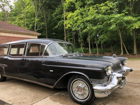new parts 1957 Cadillac Commercial HEARSE for sale