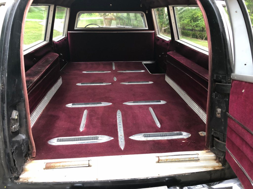 new parts 1957 Cadillac Commercial HEARSE