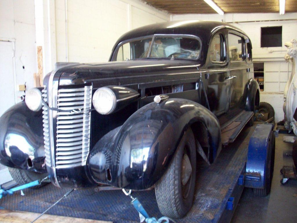 rare 1938 Buick Series 40 Superior hearse