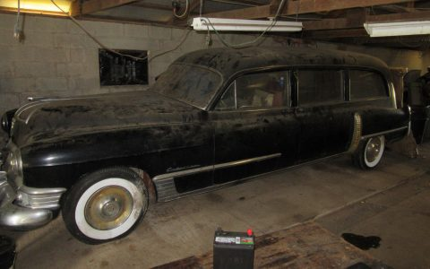 Rear Loader 1949 Cadillac S&S hearse for sale