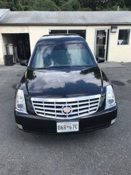 top of the line 2008 Cadillac DTS hearse for sale