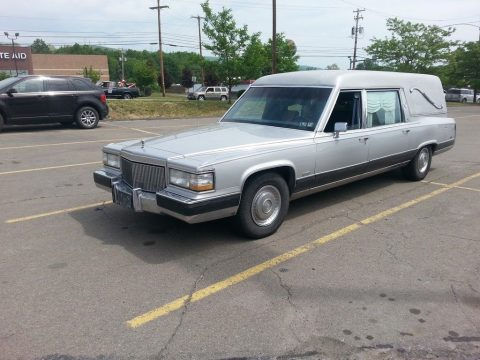 great shape 1990 Chevrolet Brougham Chrome hearse for sale