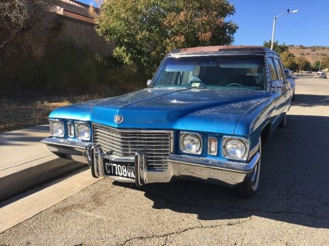 needs care 1972 Cadillac Victoria Hearse for sale