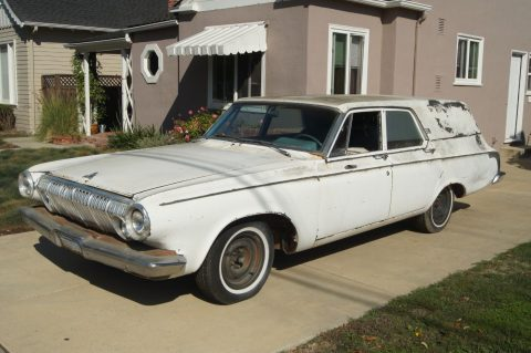 rare 1963 Dodge Polara 330 Hearse for sale
