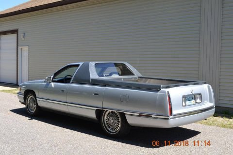 recently updated 1994 Cadillac Coupe Deville Flower Car for sale