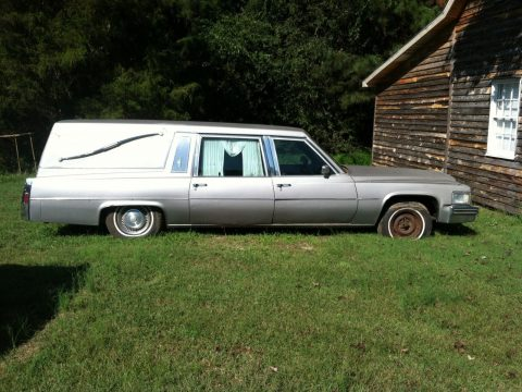 solid 1978 Cadillac Hearse for sale