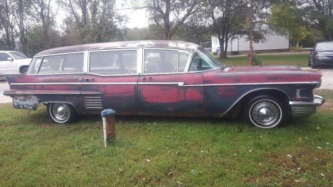 Super Solid 1958 Cadillac M&M Hearse for sale