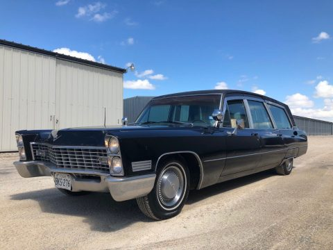 very nice 1967 Cadillac Hearse HEARSE for sale