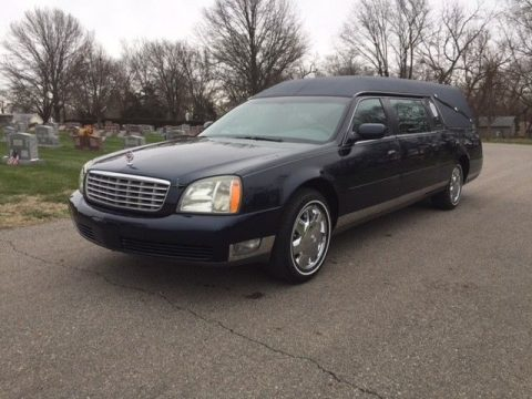 2004 Cadillac DeVille S&S Medalist Hearse for sale