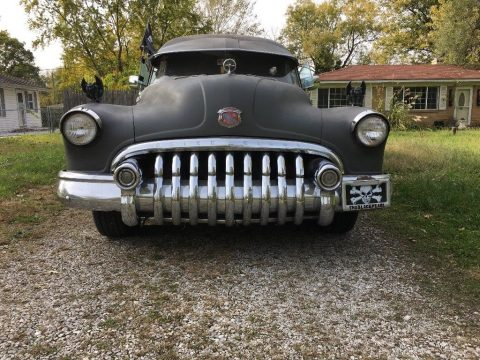 garaged 1950 Buick Roadmaster Flxible Hearse for sale