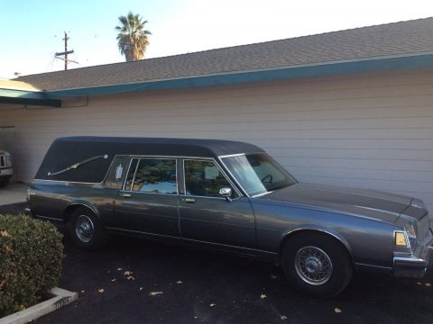 low miles 1989 Buick S&S Hearse for sale