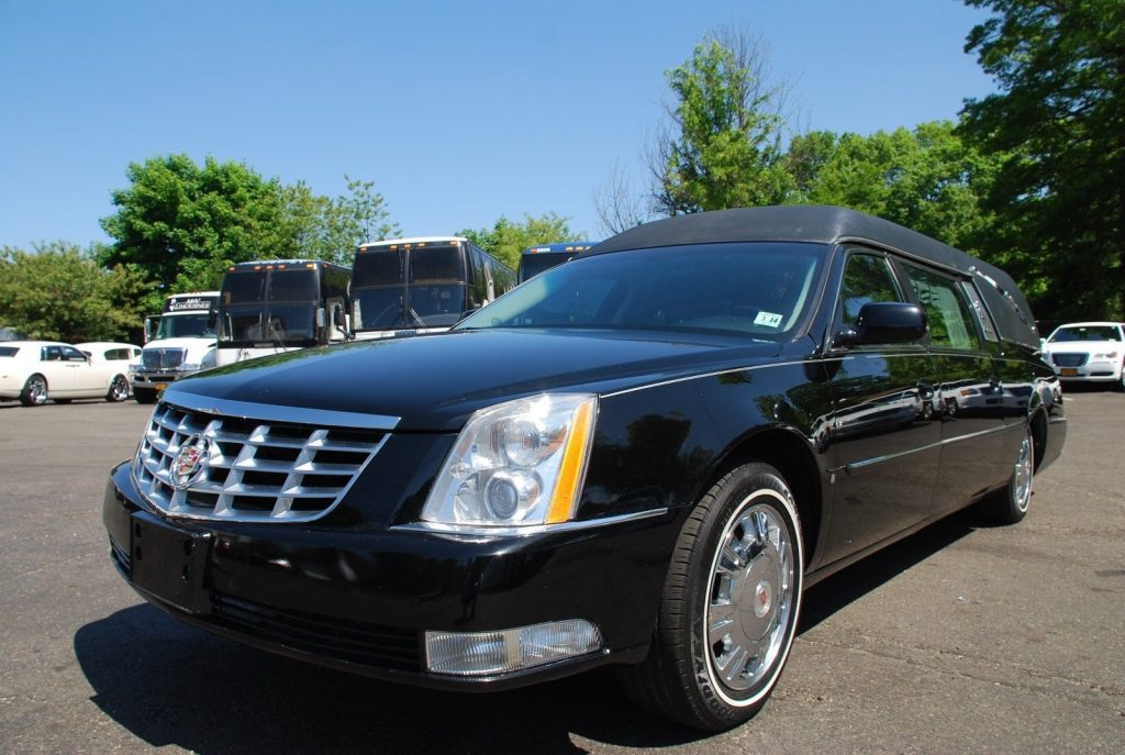 low miles 2010 Cadillac DTS hearse