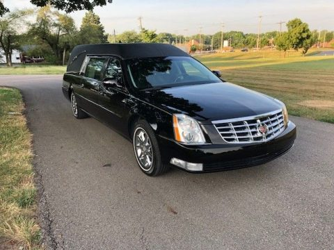 low miles 2011 Cadillac DTS Hearse for sale