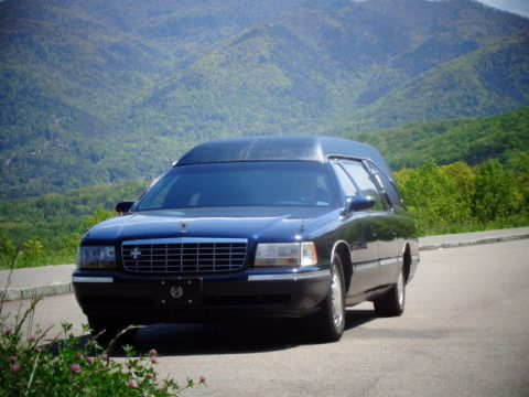 serviced 1998 Cadillac hearse for sale