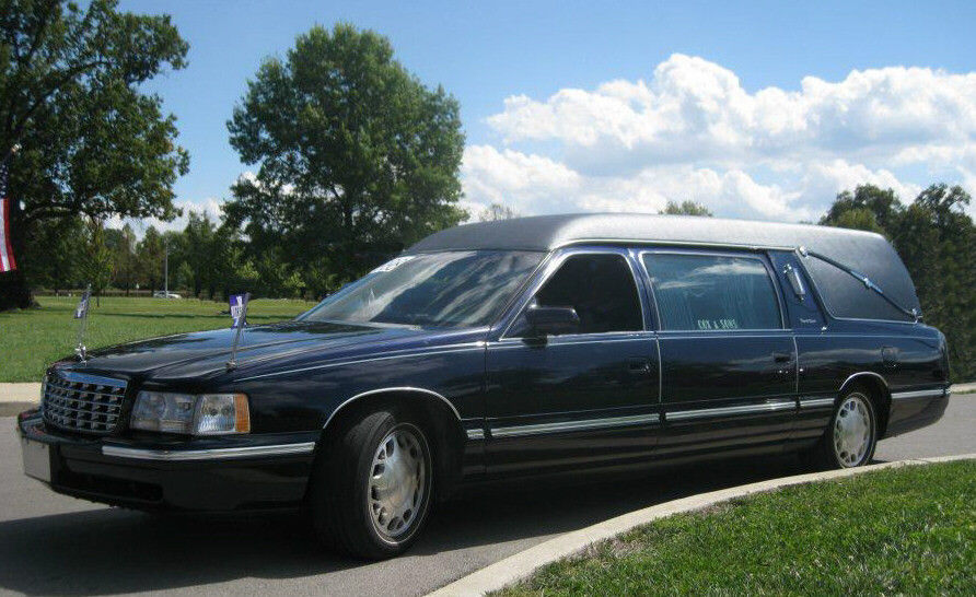 serviced 1998 Cadillac hearse