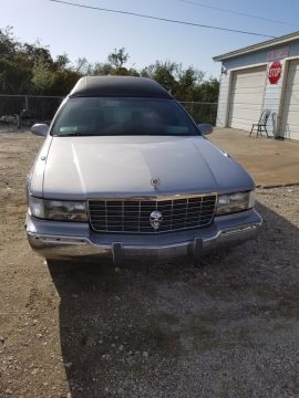 very clean 1996 Cadillac Fleetwood Brougham hearse for sale