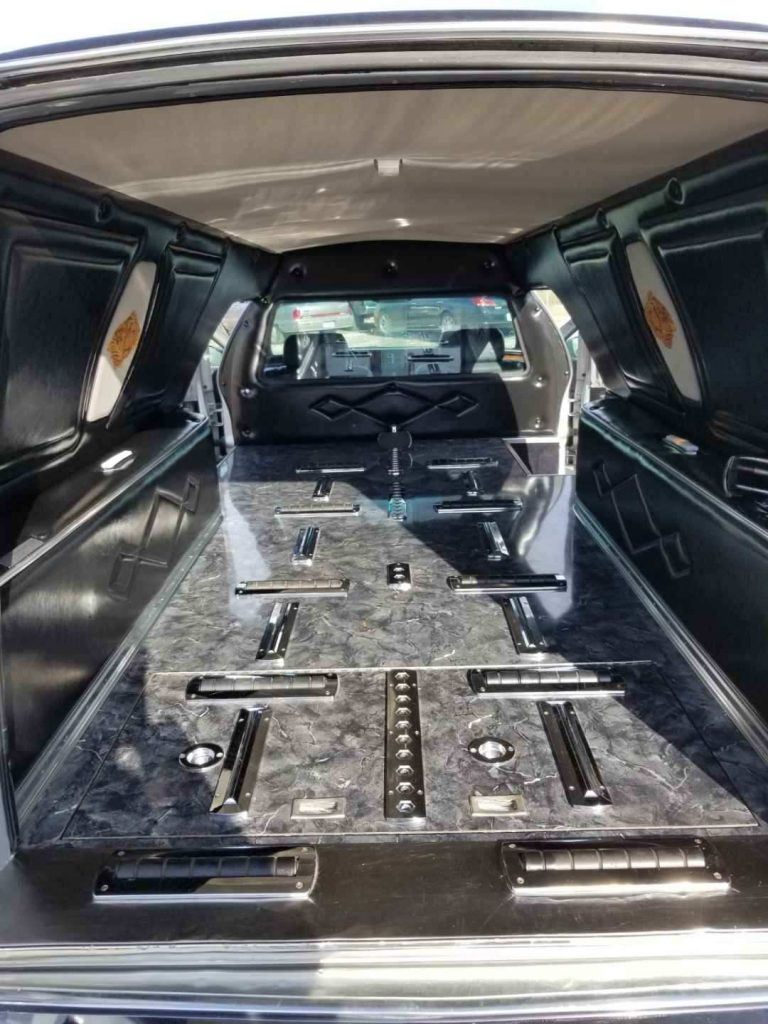 very clean 1996 Cadillac Fleetwood Brougham hearse