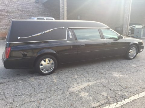 well serviced 2000 Cadillac Hearse for sale