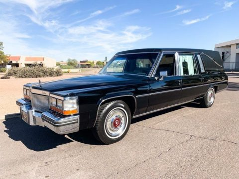 extremely clean 1980 Cadillac Deville Superior Hearse for sale