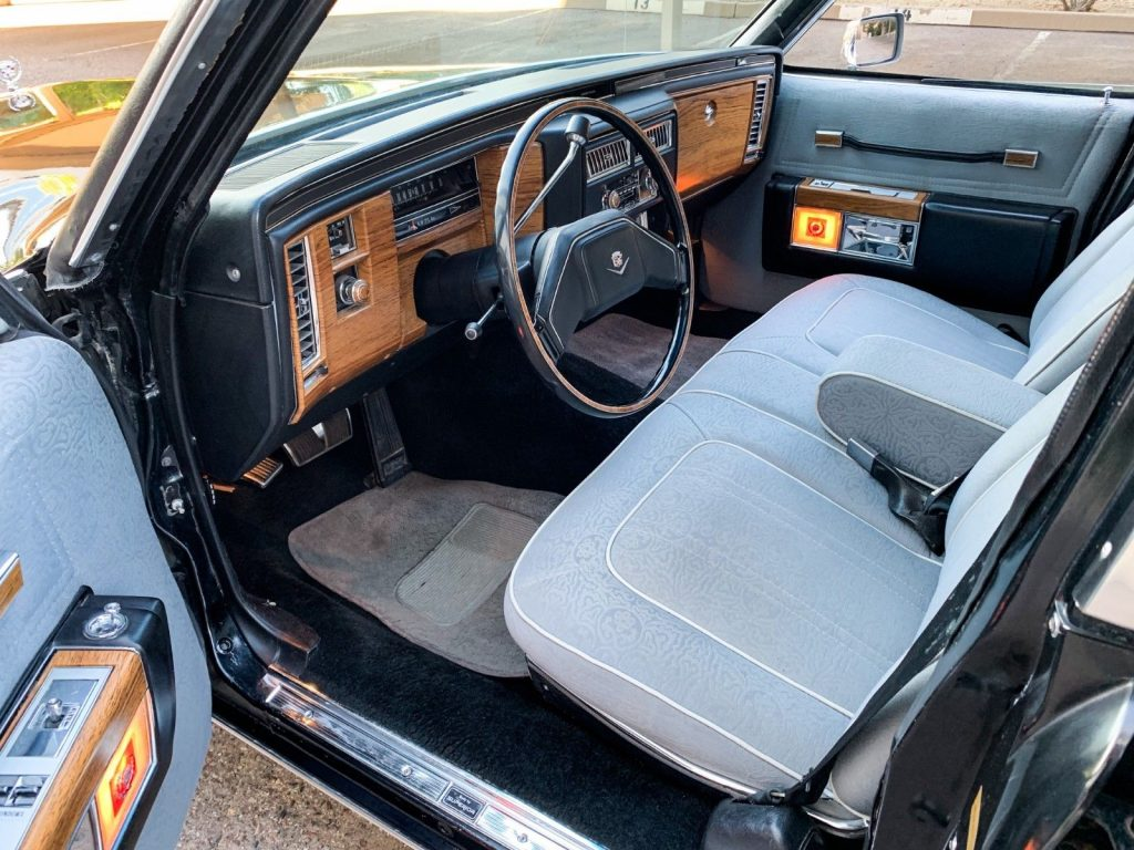 extremely clean 1980 Cadillac Deville Superior Hearse