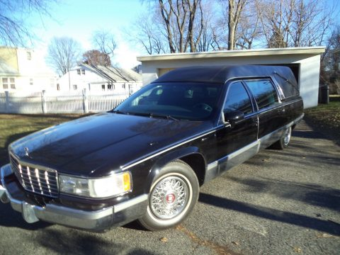 great shape 1993 Cadillac Eureka hearse for sale