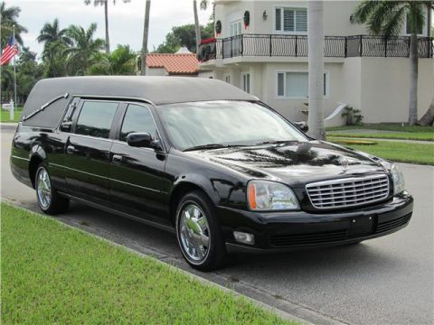 low miles 2004 Cadillac Deville Funeral Coach Hearse for sale