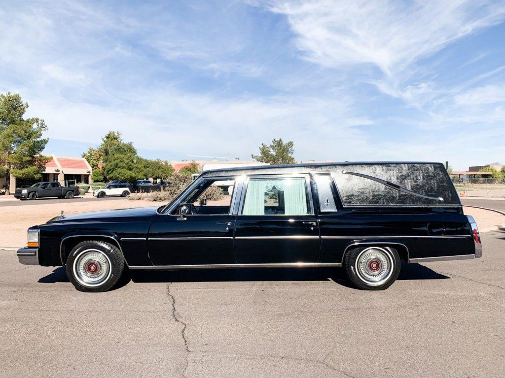 mint 1980 Cadillac Deville Superior Hearse