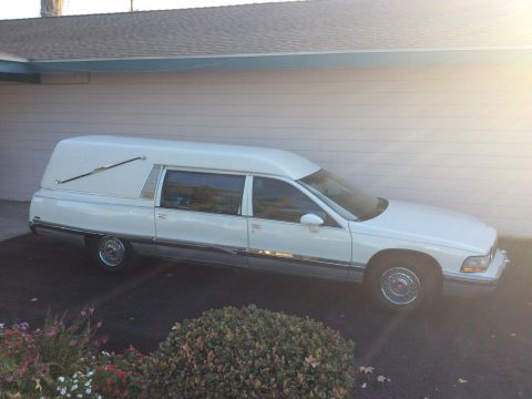 solid 1993 Buick Roadmaster Eureka Hearse for sale