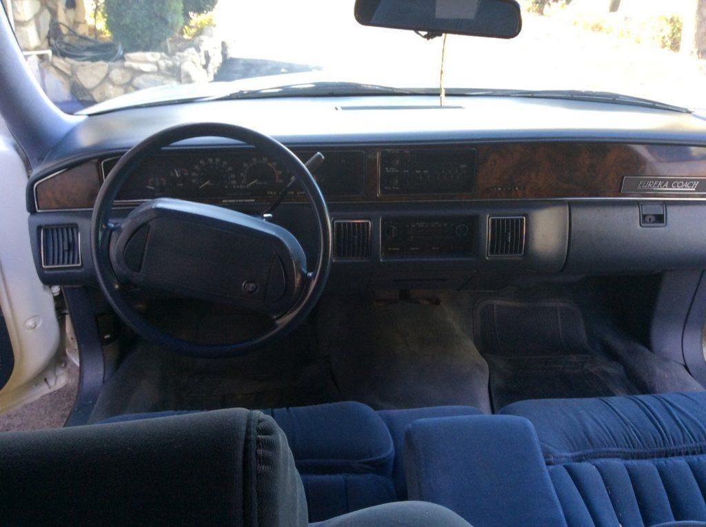 solid 1993 Buick Roadmaster Eureka Hearse