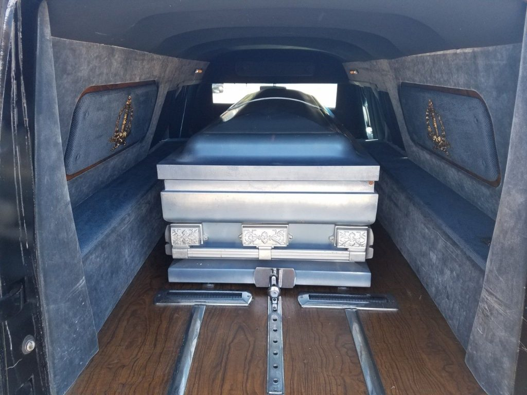 garage kept 1988 Cadillac Hearse