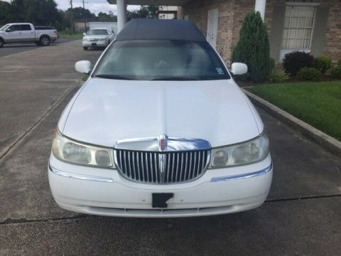 new tires 1998 Lincoln Town Car hearse for sale