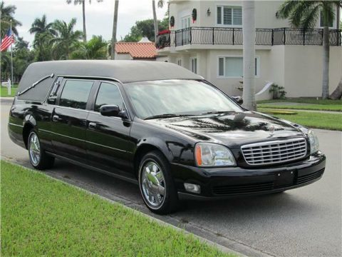 strong running 2004 Cadillac Deville Hearse for sale