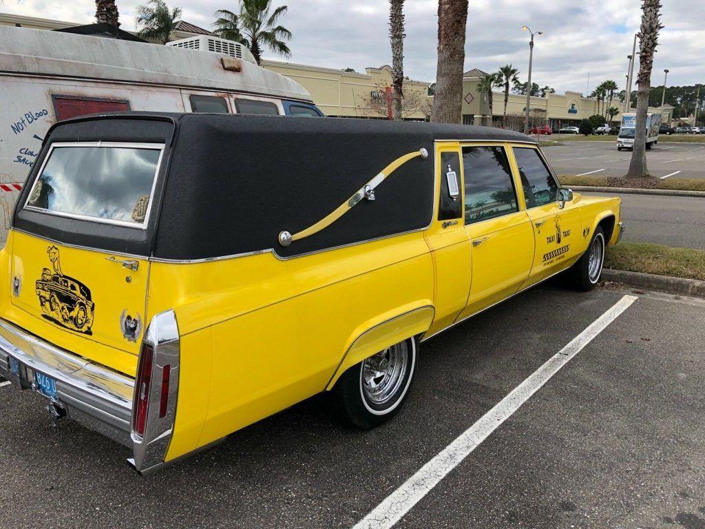 super clean 1981 Cadillac hearse