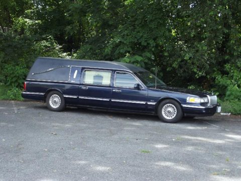 super clean 1997 Lincoln Town Car Hearse for sale