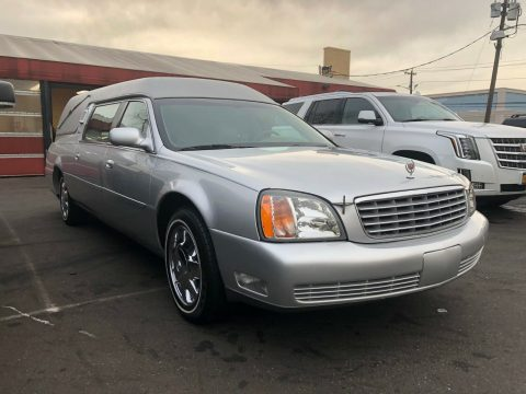 very clean 2002 Cadillac Deville Funeral Hearse for sale