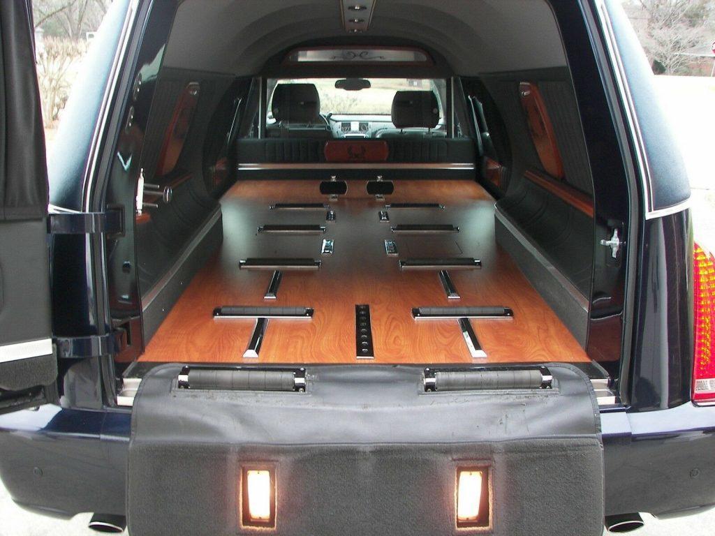 clean 2011 Cadillac hearse