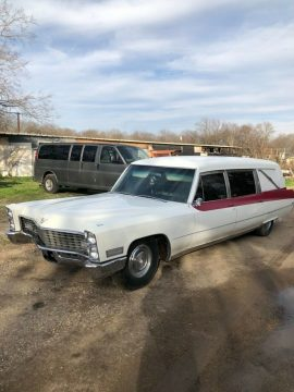 combined 1967 Cadillac Miller Meteor Duplex Hearse Ambulance for sale